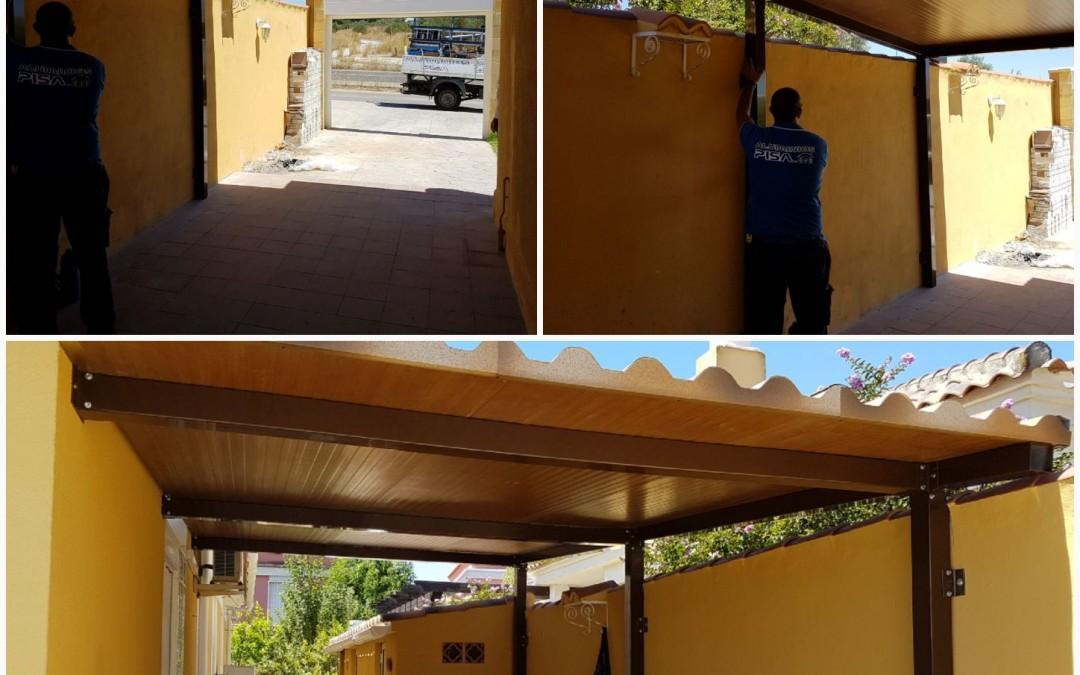 Solución para puertas de Garajes que no  permiten otros sistemas de apertura.